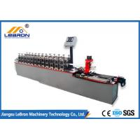 Wholesale 5.5kW Drywall Ceiling Channel Roll Forming Machine 0.3 - 1.0mm Coil Thickness from china suppliers