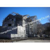 China Light Weight Steel Structure Villa House Pre-Engineered Building Construction With Cladding Systems for sale