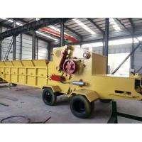 China wood chipping machine/wood chipper shredder for sale, China made diesel mobile chipper for sale