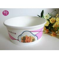 Wholesale 12 Oucne Single Wall Hot Paper Soup Containers BRC FDA Certificated from china suppliers