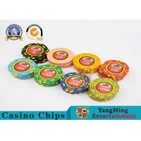 Wholesale 600pcs Casino Poker Chips Set With Custom Uv Logo Circular Type from china suppliers