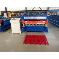 Wholesale 5.5kw Glazed Tile Forming Machine , High Speed Roof Tile Manufacturing Machine from china suppliers