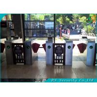 Wholesale Classical Design Flap Barrier Gate Crowed Control Flap Turnstile from china suppliers