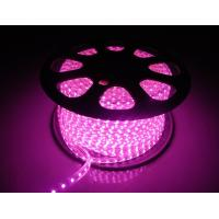Wholesale 220V LED Flexiable Strips SMD5050 RGB multicolor Purple color IP65 high brightness from china suppliers