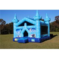 Buy cheap Attractive Elsa'S Frozen Kids Inflatable Bouncer Castle With 3 Years Warranty from wholesalers