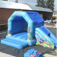Wholesale Blue Sea World Inflatable Bouncing House Frozen For Kids Party from china suppliers