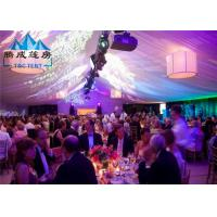 Wholesale Air Conditioned Wedding Marquee Tent , Rain Proof Canopy Party Tent With Church Window from china suppliers