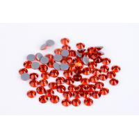 Wholesale 1.5mm - 10mm Large Loose Rhinestones , Heat Set Rhinestones 8 / 16 Facets from china suppliers