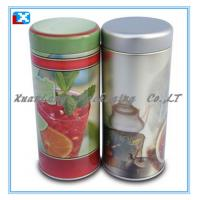 Wholesale CMYK metal tin box for tea wholesale from china suppliers