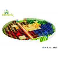 Buy cheap Commercial Center Indoor Trampoline Park PVC Film Outside For Jumping from wholesalers