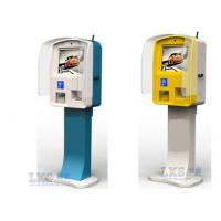China Customized Waterproof Touch Screen Self-service Card Dispenser Kiosk For Subway Use on sale