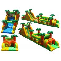 Wholesale Renting Durable Inflatable Obstacle Course For Jungle Themed Party from china suppliers
