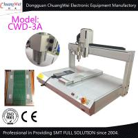 Buy cheap White 0.5KW Manual Desktop PCB Router Machine with Air Cooled Spindle from Wholesalers