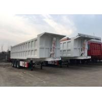China High Speed Tipper Semi Trailer Truck For Mining And Construction 25-45 CBM for sale