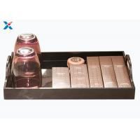 Wholesale Eco - Friendly Acrylic Display Case Hotel Washing Acrylic Serving Tray from china suppliers