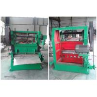 China Small Expanded Metal Mesh Making Machine For Produce Material Copper Foil for sale
