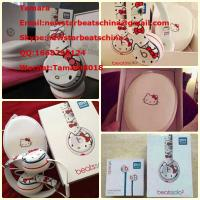 Wholesale 2015 new arrival Hello Kitty beats solo 2 headphone by dr dre with full accessories and original packing from china suppliers