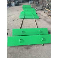 Wholesale Bucket Cap Rail Alloy Steel Castings D14901475 Yield Strength 585Mpa from china suppliers