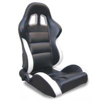 Wholesale Black and white Sport Racing Seats with harness / classic sports car seats from china suppliers