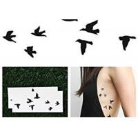 Buy cheap Butterfly Temporary Lower Back Body Tattoo Stickers For Adults / Children from wholesalers