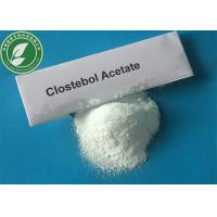 Wholesale 99% Steroid Powder Clostebol Acetate Turinabol For Muscle Mass CAS 855-19-6 from china suppliers
