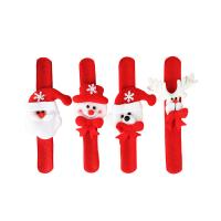 Buy cheap Red Non-woven Slap Wristbands, Wholesale Christmas Gift, Santa Claus Slap from wholesalers