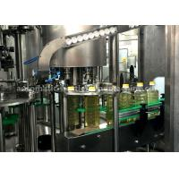 Wholesale Cooking Oil / Sauce Piston Filling Machine , Volumetric Filling Machine With 8 Capping Heads from china suppliers