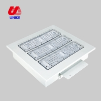 China CE ROHS explosion proof 100W 150 watt led flood square canopy light fixture for gas station lamp on sale