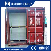 China supply plastic concrete formwork with 60 reusable times pp plastic plywood for sale