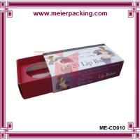Wholesale Custom hair extension packaging box, lip balms paper packaging box wholesale ME-CD010 from china suppliers