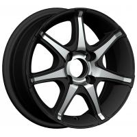Wholesale Black Chrome 13 Inch Alloy Wheels 13x5.5 4 Holes for Car KIN-318 from china suppliers