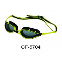 Wholesale Unisex Colorful Swim Goggles Silicone Gaskets Head Strap For Adult from china suppliers