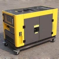Wholesale 230V/400V 50Hz Small Portable Diesel Generator , AC 3 Phase mobile diesel generator from china suppliers