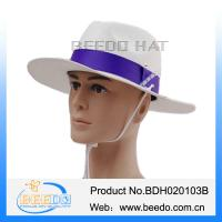 China Australian white wool felt cowboy hat for adults on sale