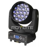 Quality 19 x 12w Osram LED Beam Moving Head , 4 in 1 LEDs Aura LED Wash Light for sale