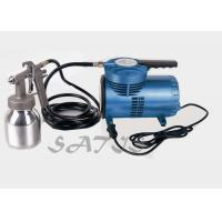 Wholesale Portable spray paint gun with air compressor , hvlp spray gun small compressor 7.2cfm from china suppliers