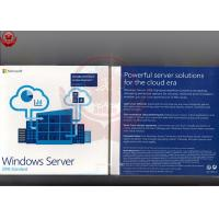Wholesale Windows Server 2016 Standard Oem  Retail DVD COA Sticker Software Licensing from china suppliers