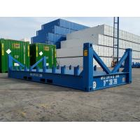 China High Strength Sea Container Platform 20 Foot Frame Easy Operation Industrial for sale