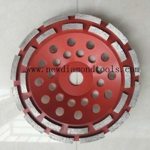 China 7 inch diamond cup grinding wheel on sale