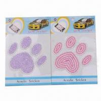 Wholesale Car Stickers for Decoration, Customized Designs are Accepted from china suppliers