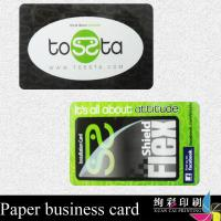 Quality CR80 High End Business Cards PVC / Printable Membership Card Blank for sale
