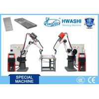 Wholesale Mig Aluminum Industrial Robotic Arc Welding Machine , 6 Axis Aluminum Chair Welding Robot from china suppliers