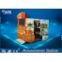 Recreation Simulator Shooting Arcade Machines With Cabinet Fashion Design for sale