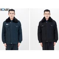 Wholesale Fur Collar Jacket Security Guard Uniform Winter With Two Pockets from china suppliers