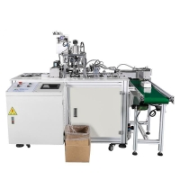 Wholesale 3 Layers Non Woven Antivirus Dust Mask Making Machine from china suppliers