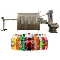 Buy cheap 250-2000ML PET Bottle Soft Drink Bottling Plant , Monoblock Filler And Capper from wholesalers