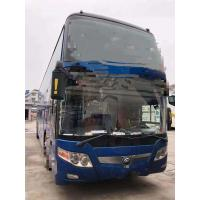 China 2014 Year Used Yutong Buses 61 Seats One Layer And Half With Bright Color for sale