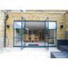 Wholesale Soundproof Aluminium Casement Door Thermal Break Out Swing Exterior Door from china suppliers