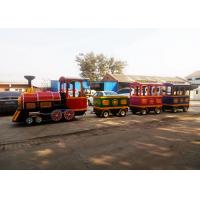 Wholesale Pollution Free Trackless Train Amusement Ride With Smoke Steam Spray Device from china suppliers