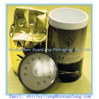 Wholesale Cardboard Round Paper Can for Tea from china suppliers